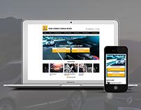 Renault - Service Microsite - UI Design - LIVE WORK