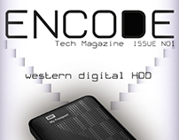 Tech magazine design