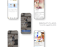 BRIGHT CLASS -- Exclusive dating app for professionals