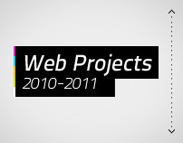 Web Projects 2010-2011