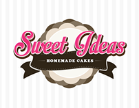 Sweet Ideas Homemade Cakes Logo Design Study