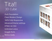 Tita!! - Modern 3D Drupal Theme