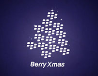 Berry Xmas 2013 Postcard