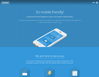 Express - Responsive One Page WordPress Theme