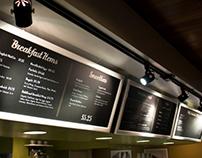 SAC Cafe Sign Set