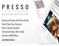 PRESSO - Clean & Modern Magazine Theme