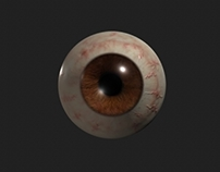 Realistic Eyeball Development in Maya