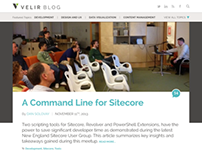 Velir Blog Redesign