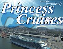 Interactive Cruise/Vacation App Design