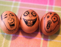 Three Little Easter Eggs