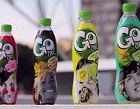 Дизайн упаковки безалкогольных напитков для Sunfruit