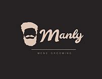 Manly | Men's Grooming | Logo | Branding