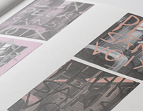 TYPOGRAPHIE / SOUVENIRS