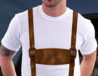 Tirol costume t-shirt design