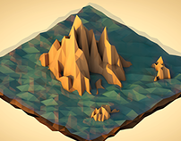 3D Low Poly Landscapes