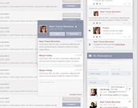 BeanStock Social Network