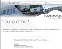 Airbus Event Planner