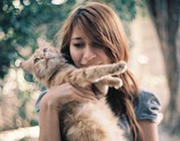 ANOTHER GIRL WHO LOVES CATS