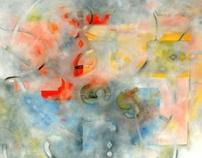 Paths II  Oil on panel 24 x 30