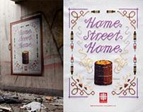 Print: Caritas - Home street home