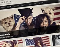 Bootstrap Website - Eleven Paris Theme