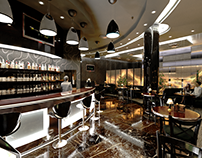 Orthodox Club/Basement Floor/Bar area