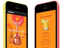 Grand Marnier Raspberry Peach Mobile Site