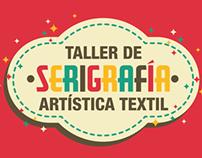 Taller de Serigrafía Artística Textil