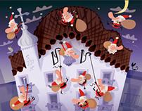 Christmas Card. Casa Batlló