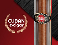 Electronic Cuban Cigar Branding