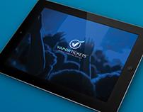 VaporTickets iPad Digital Brochure