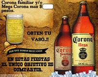Corona ® - Retro Promocion Posters.