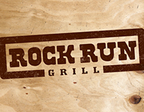 ROCK RUN GRILL IDENTITY & MENU DESIGN
