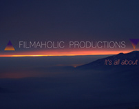 """Logo for """"Filmaholic Productions"""""""