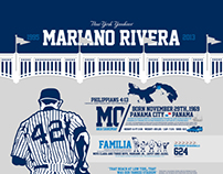Infographic: The life and Career of Mariano Rivera
