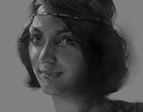 Unfinished portrait of me