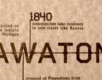 Potawatomi Letterpress Print