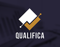 Qualifica - identidade visual e site