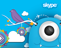 Skype Monster theme - Nexus Creative 2013