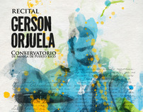 Gerson Orjuela Music Recital