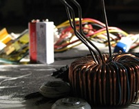 Photography and Exploration: the innards of electronics