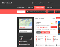 Alava Travel - Search Results Page
