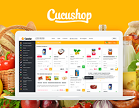 E-shop of the high quality food / Cucushop