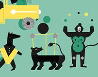 Visual identity for Microfestival 2018