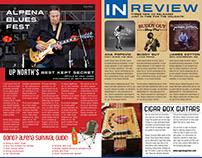 Magazine Spread - Blues Magazine