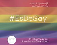 #EsDeGay
