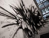 Failure #x . Intervención mural