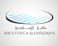 Redesigning Alexandria Library Logo