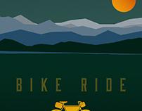 Bike Camping Poster
