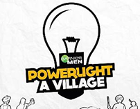 Garnier Men - PowerLight A Village - Facebook App